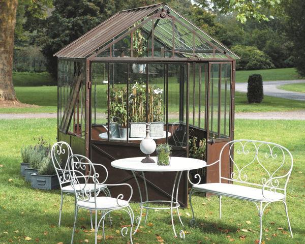 les serres de jardin maison design. Black Bedroom Furniture Sets. Home Design Ideas