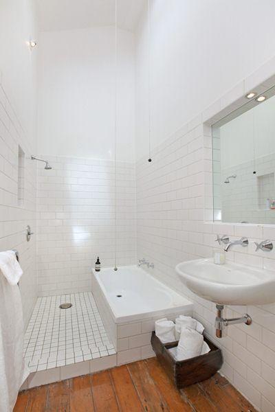 Baignoire-à-douche