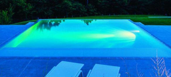 éclairage piscine